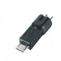 CONFEZIONE 5 CONNETTORI MICRO USB PER ALIM PSU-20 e PSU-30