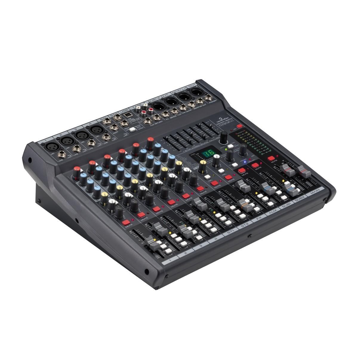 MIXER SOUNDSATION ALCHEMIX 402UFX C/EFFETTI & USB I/O