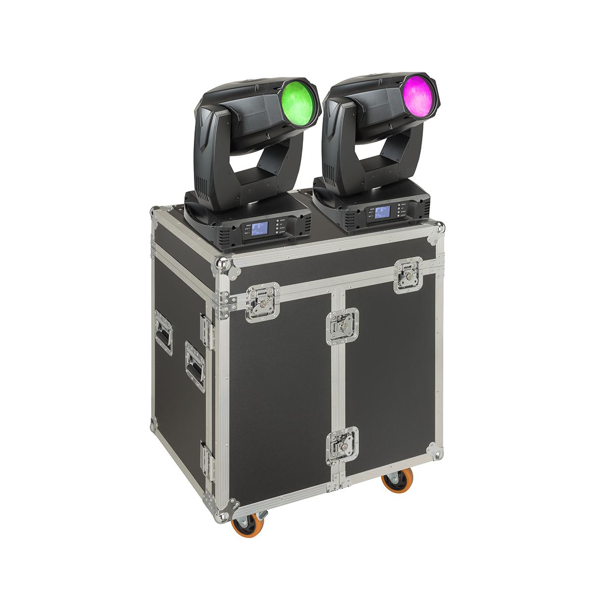 SET 2 TESTE MOBILI SOUNDSATION SPIRE XL 440 CON FLIGHT CASE