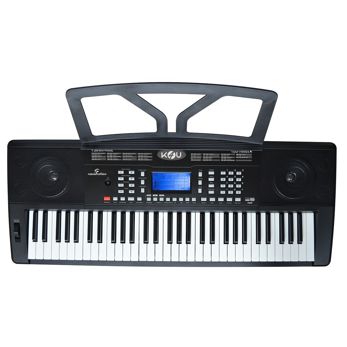 TASTIERA ARRANGER SOUNDSATION K4U -  61 TASTI CON TOUCH RESPONSE ED MP3
