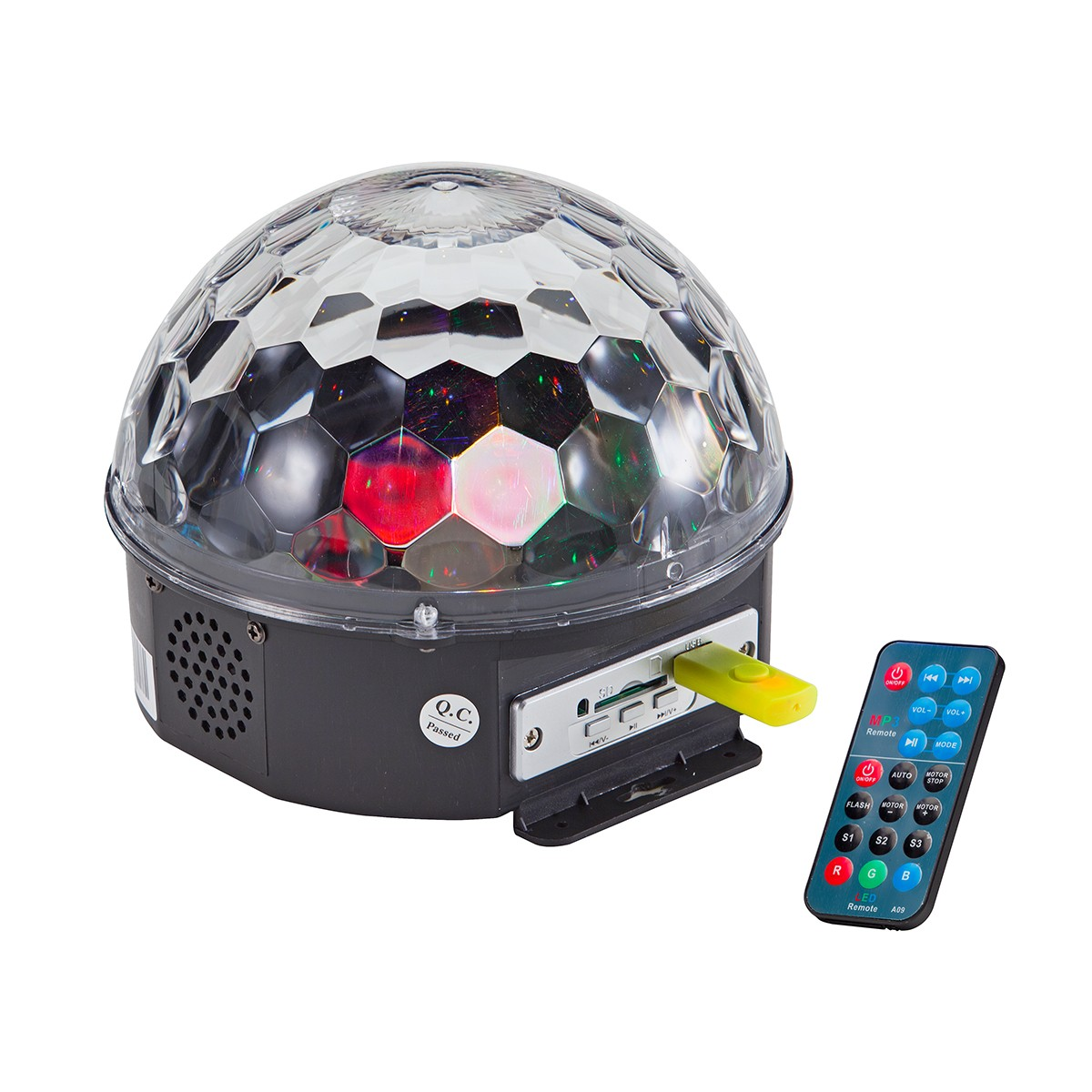 CRYSTAL BALL SOUNDSATION CB-630 6X3W LED RGB