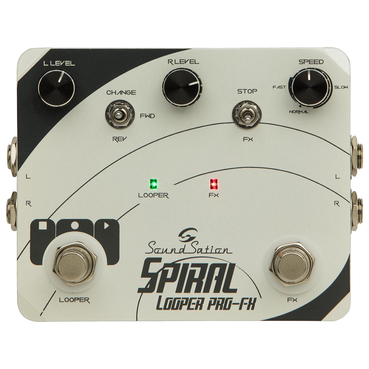 PEDALE SOUNDSATION SPIRAL LOOPER PRO-FX