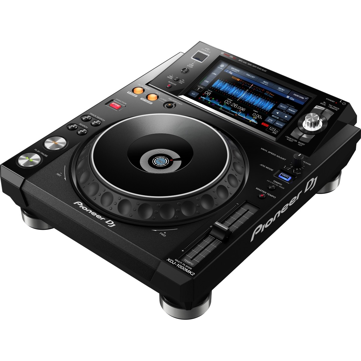 LETTORE DJ MULTIMEDIALE TOUCH SCREEEN XDJ-1000MKII