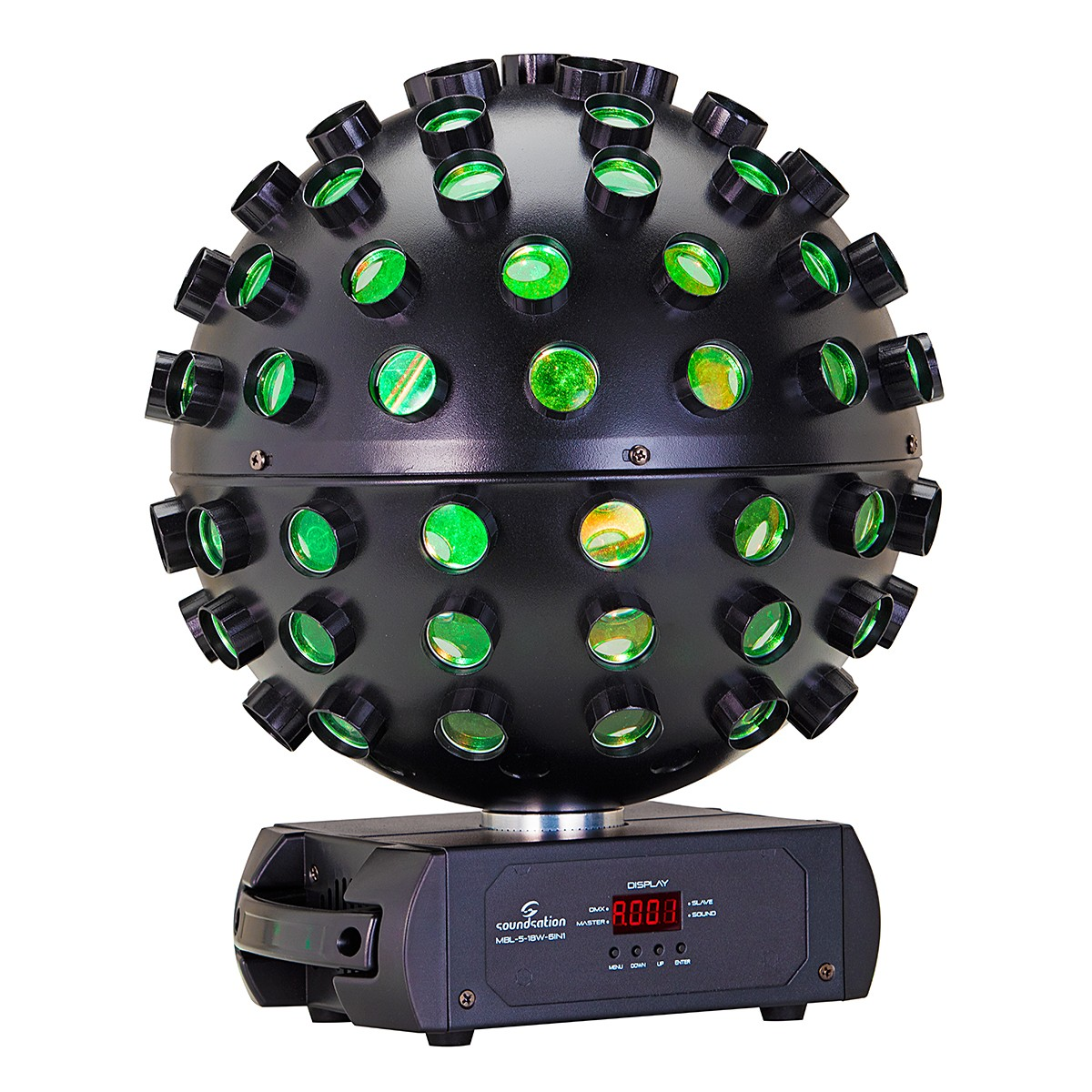 LED MAGIC BALL SOUNDSATION MBL-5-18W-6IN1 5*18W RGBWA+UV