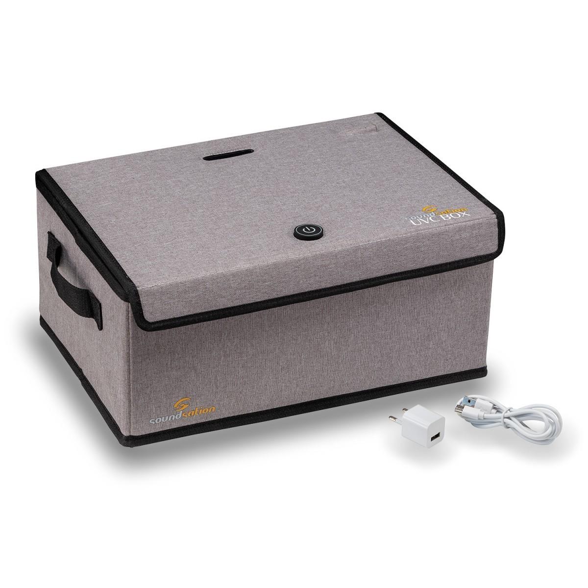BOX PER STERILIZZAZIONE A 6 LED UVC - SOUNDSATION UVC-BOX
