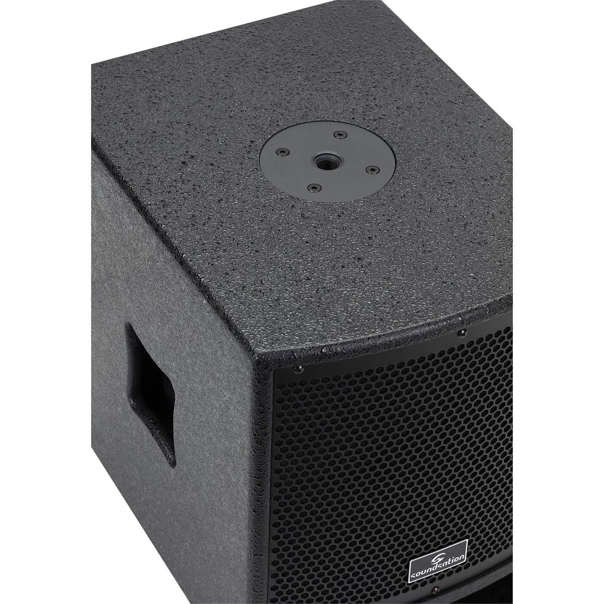 SISTEMA PA 2.1 SOUNDSATION LIVEMAKER 1021 MIX 900W. 2x6.5
