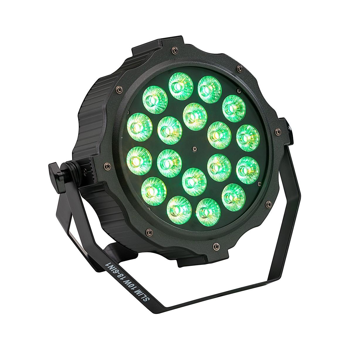 PROIETTORE A LED SOUNDSATION SESTETTO 1018 SLIM RGBWAV 6IN1