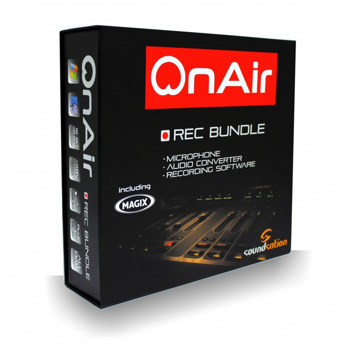 SOUNDSATION OnAir AUDIO RECORDING BUNDLE