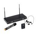 RADIOMIC. TRUE DIVERSITY UHF DOPPIO SOUNDSATION WF-U2600HP 1 TX MANO. 1 TASC+HEADSET 630-660MHz